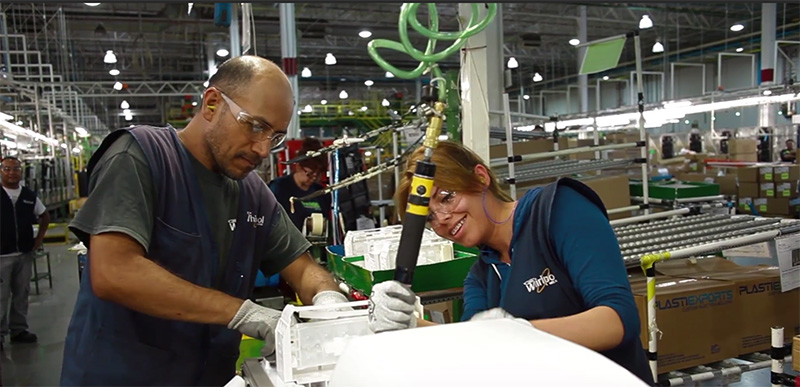 Manufacturing employees in Ramos, Arizpe, Mexico