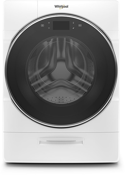 Whirlpool brand Smart All-In-One Washer & Dryer - White